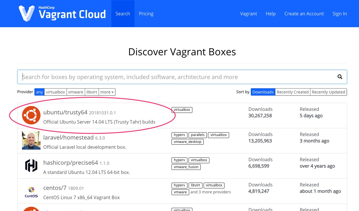Discover_Vagrant_Boxes
